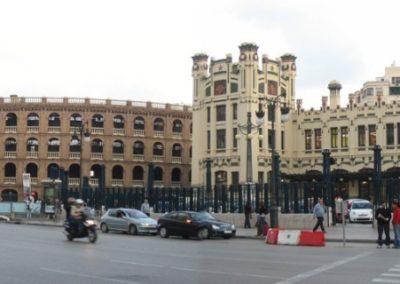 Plaza de toros y Estación del Norte